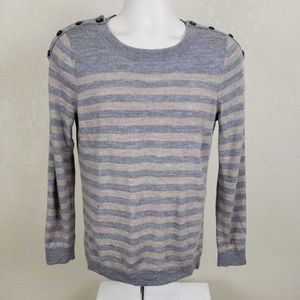 Fenn Wright Manson Long Sleeve Gray Sweater Sz L